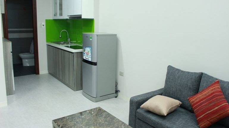 One bedroom apartment with balcony in Trinh Cong Son street, Tay Ho district for rent