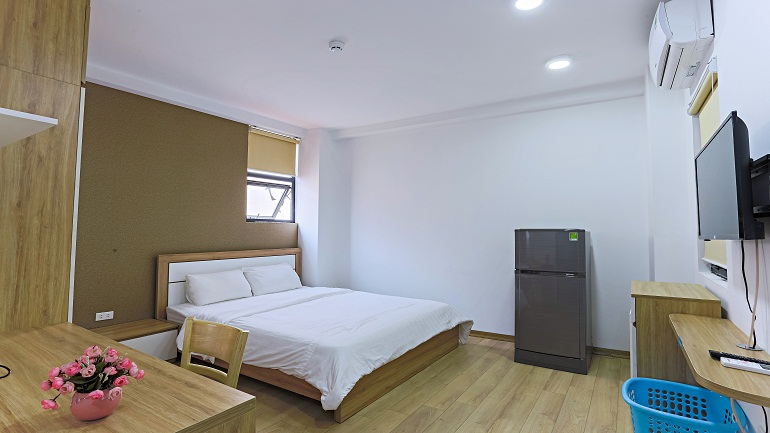 Brand – new studio apartment in Giang Vo street, Dong Da district for rent