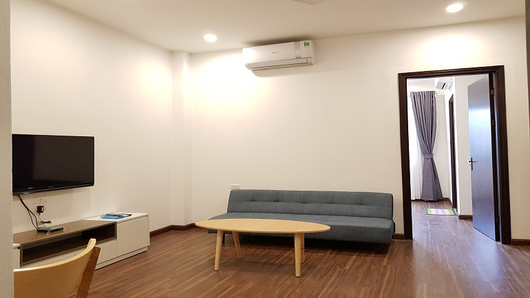 Brand – new one bedroom apartment in Au Co street, Tay Ho district for rent