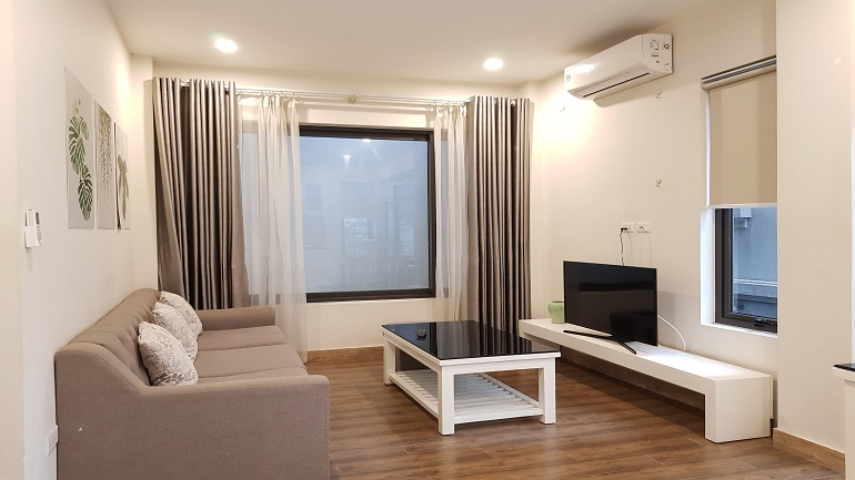Good price 1 – bedroom apartment in To Ngoc Van street, Tay Ho district for rent