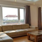 Bright 1 – bedroom apartment with big outside terrace in Tay Ho district for rent