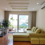 Nice 2 – bedroom apartment with balcony in Tu Hoa street, Tay Ho district for rent