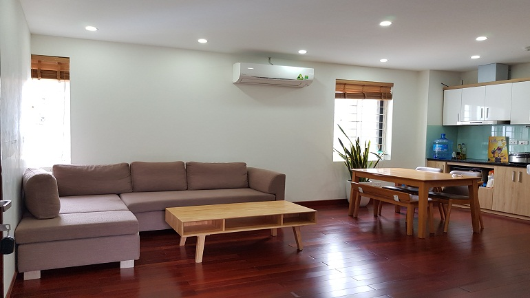 Nice 1 – bedroom apartment in Yen Phu village, Tay Ho district for rent